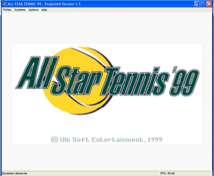 Screenshot 1 du jeu All Star Tennis '99