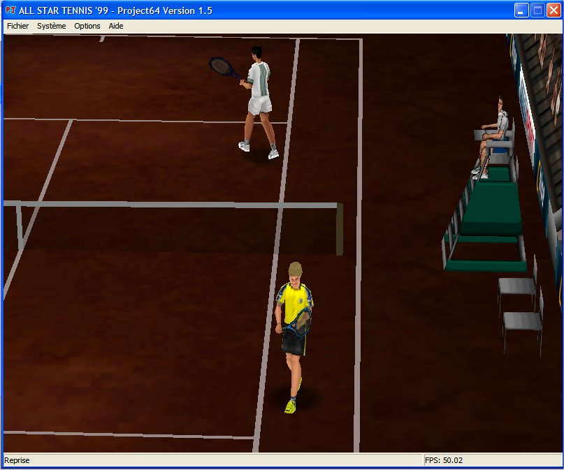 Screenshot 3 du jeu All Star Tennis '99