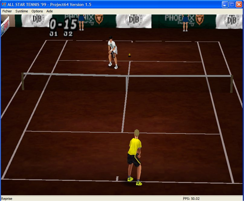 Screenshot 4 du jeu All Star Tennis '99