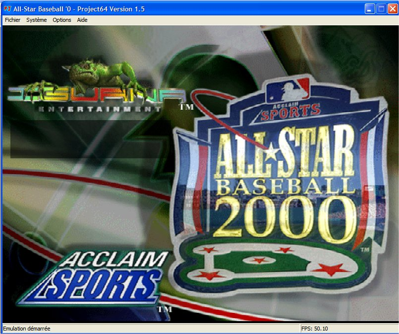 Screenshot 1 du jeu All-Star Baseball 2000