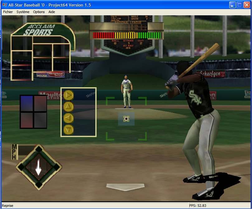 Screenshot 2 du jeu All-Star Baseball 2000