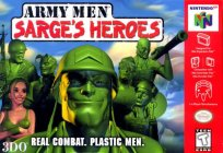 Box art du jeu Army Men - Sarge's Heroes