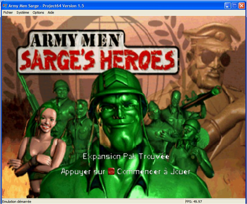 Screenshot 1 du jeu Army Men - Sarge's Heroes