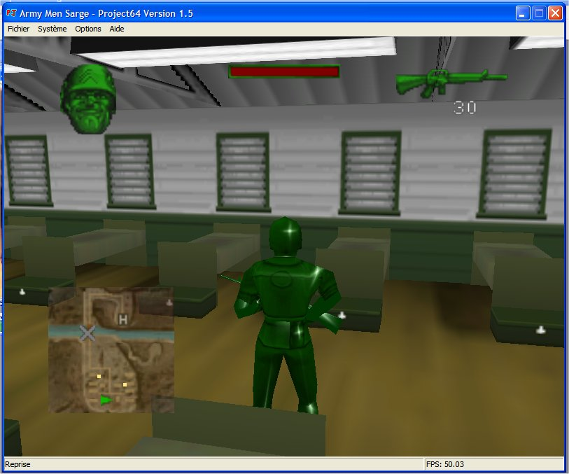 Screenshot 2 du jeu Army Men - Sarge's Heroes
