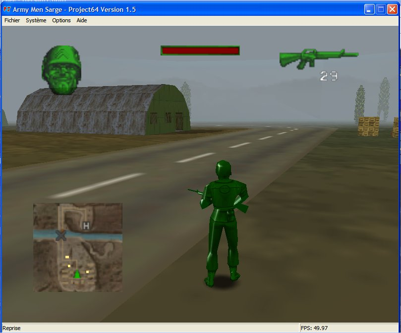 Screenshot 3 du jeu Army Men - Sarge's Heroes