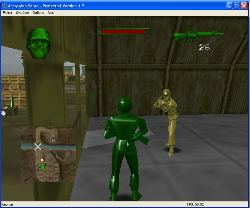 Screenshot 4 du jeu Army Men - Sarge's Heroes