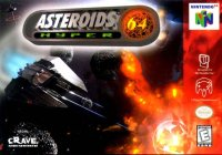 Box art du jeu Asteroids Hyper 64