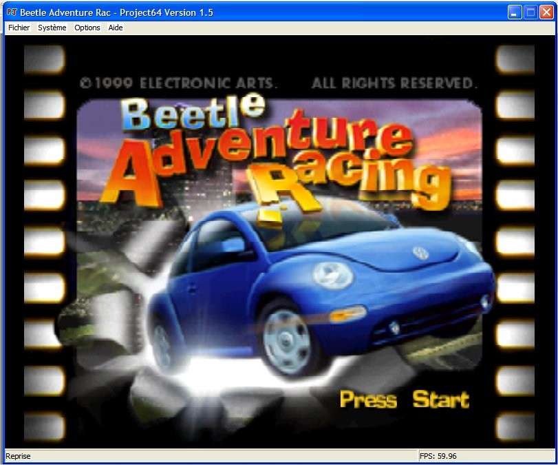 Screenshot 1 du jeu Beetle Adventure Racing
