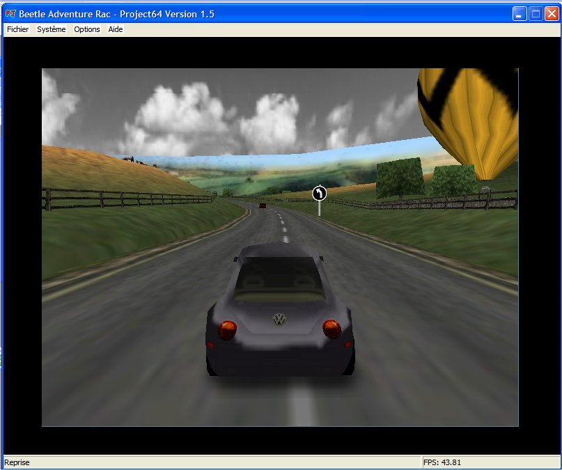 Screenshot 3 du jeu Beetle Adventure Racing