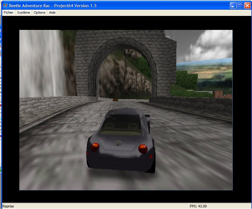 Screenshot 4 du jeu Beetle Adventure Racing