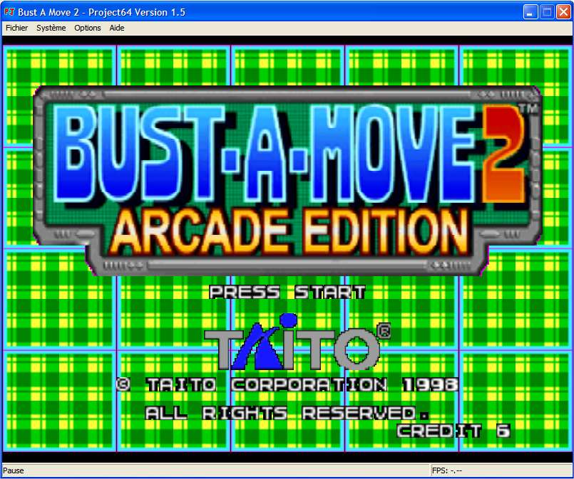 Screenshot 1 du jeu Bust-A-Move 2, Arcade Edition