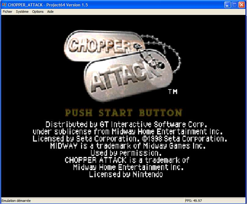 Screenshot 1 du jeu Chopper Attack