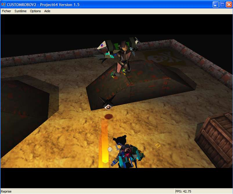 Screenshot 2 du jeu Custom Robo V2