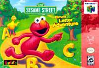 Box art du jeu Elmo's Letter Adventure