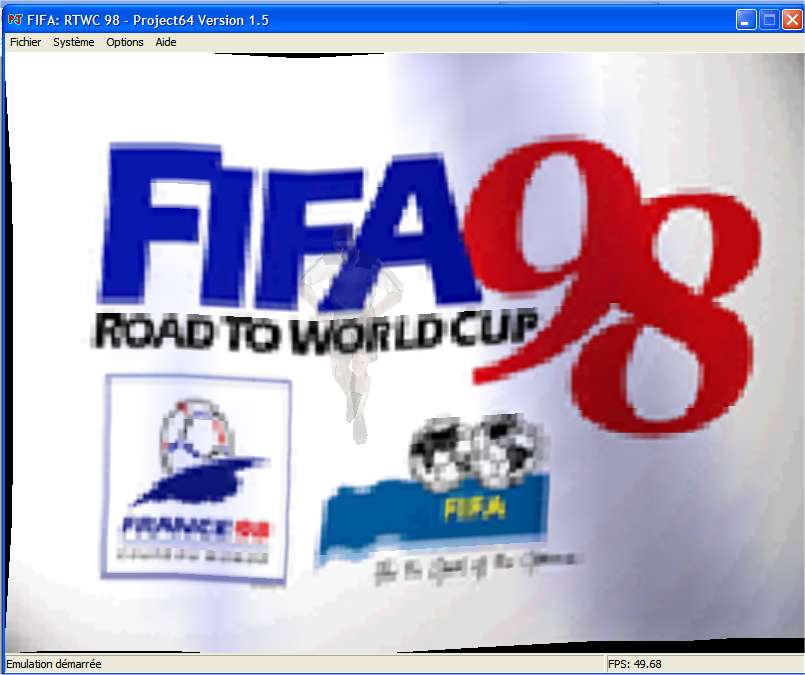 Screenshot 1 du jeu FIFA - Road to World Cup'98