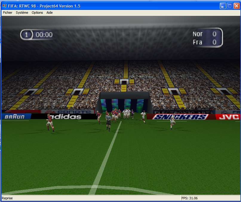 Screenshot 2 du jeu FIFA - Road to World Cup'98