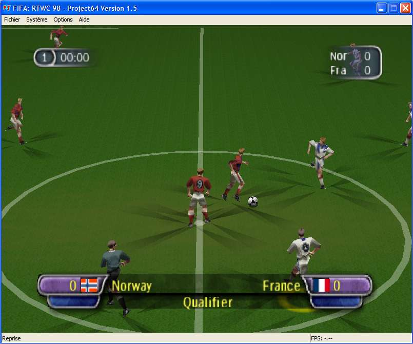 Screenshot 3 du jeu FIFA - Road to World Cup'98