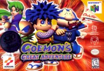 Box art du jeu Goemon's Great Adventure