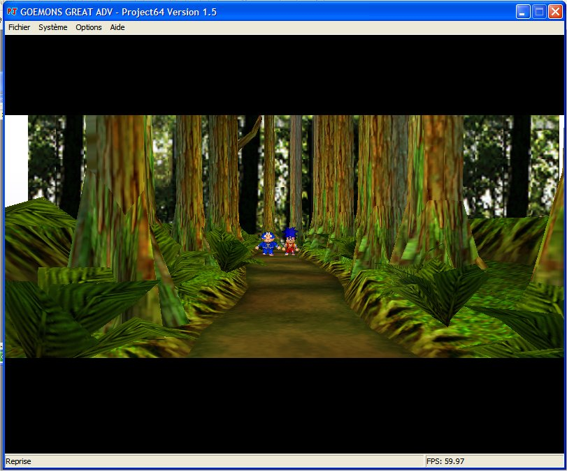 Screenshot 2 du jeu Goemon's Great Adventure