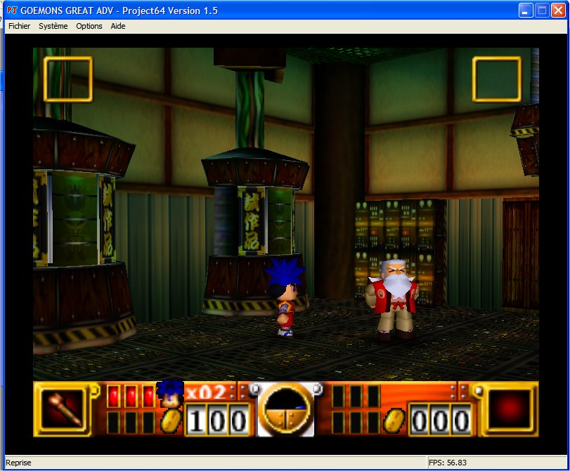 Screenshot 3 du jeu Goemon's Great Adventure