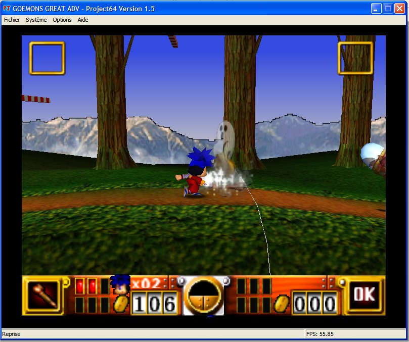 Screenshot 4 du jeu Goemon's Great Adventure