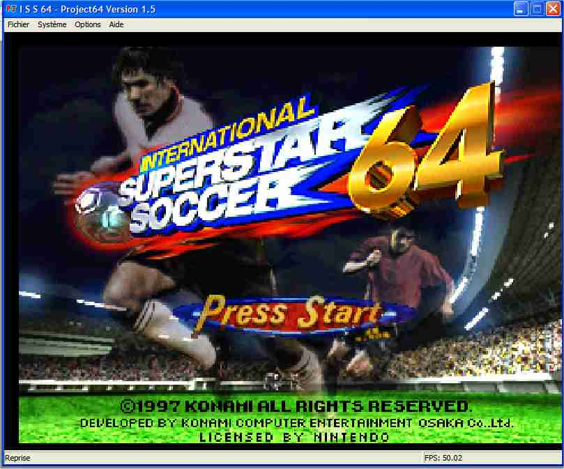 Screenshot 1 du jeu International Superstar Soccer 64