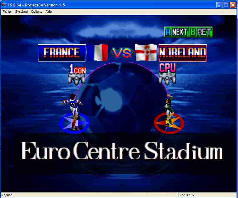 Screenshot 2 du jeu International Superstar Soccer 64