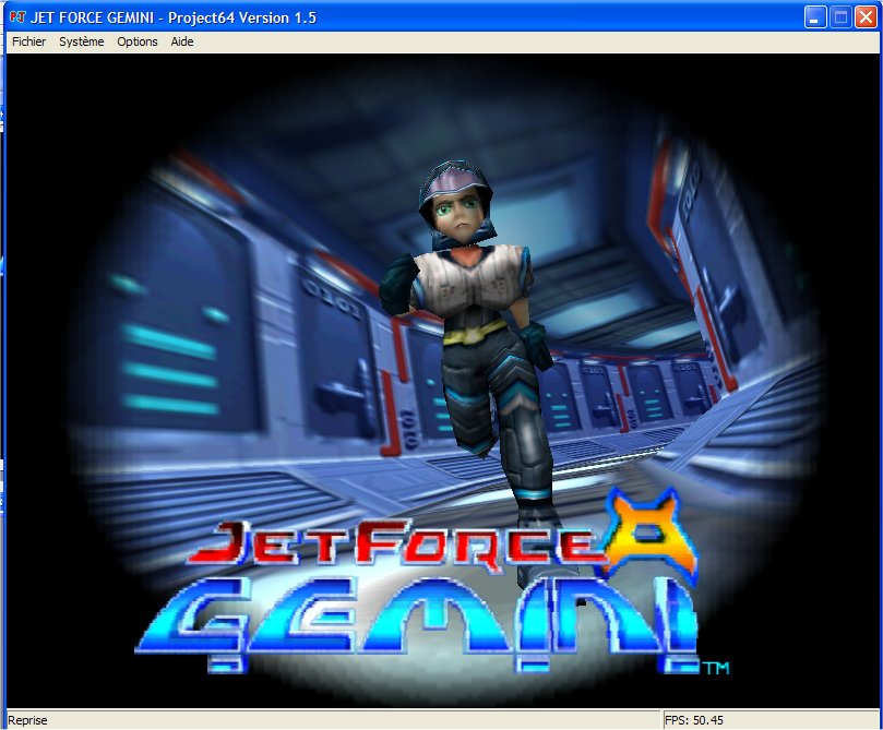 Screenshot 1 du jeu Jet Force Gemini