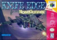 Box art du jeu Knife Edge - Nose Gunner