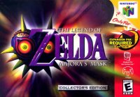 Box art du jeu Legend of Zelda, Majora's Mask