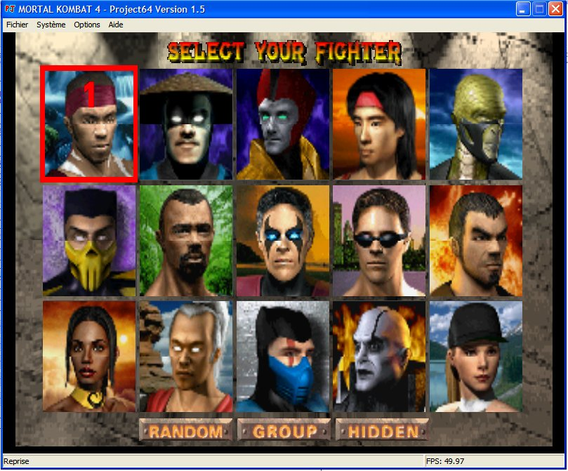 Screenshot 1 du jeu Mortal Kombat 4