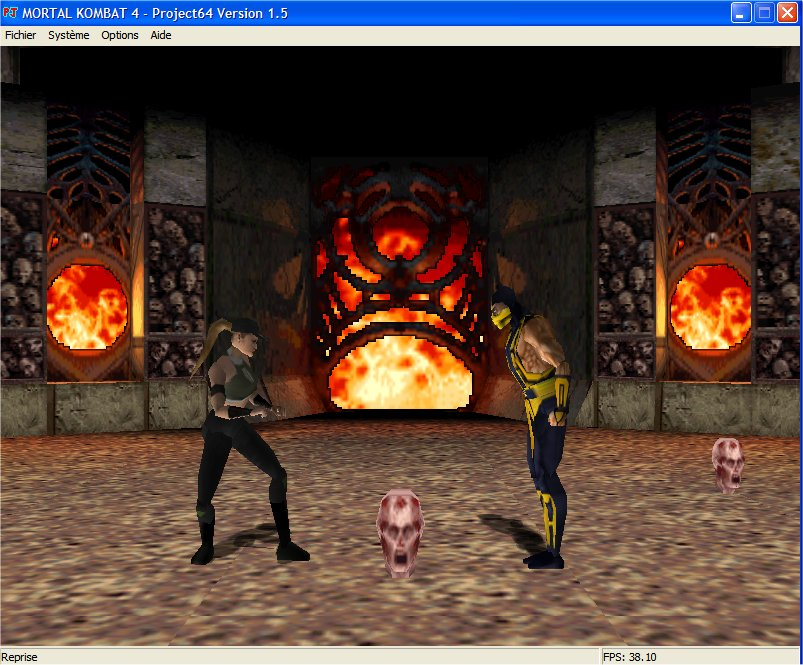 Screenshot 2 du jeu Mortal Kombat 4