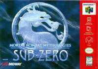 Box art du jeu Mortal Kombat Mythologies - Sub-Zero