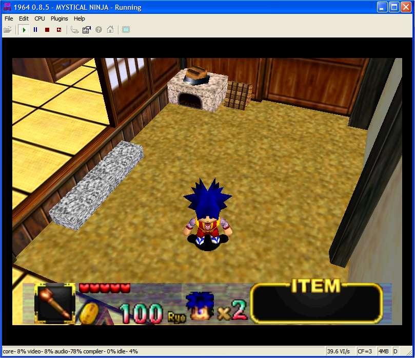 Les 3 Screenshots de Mystical Ninja Starring Goemon