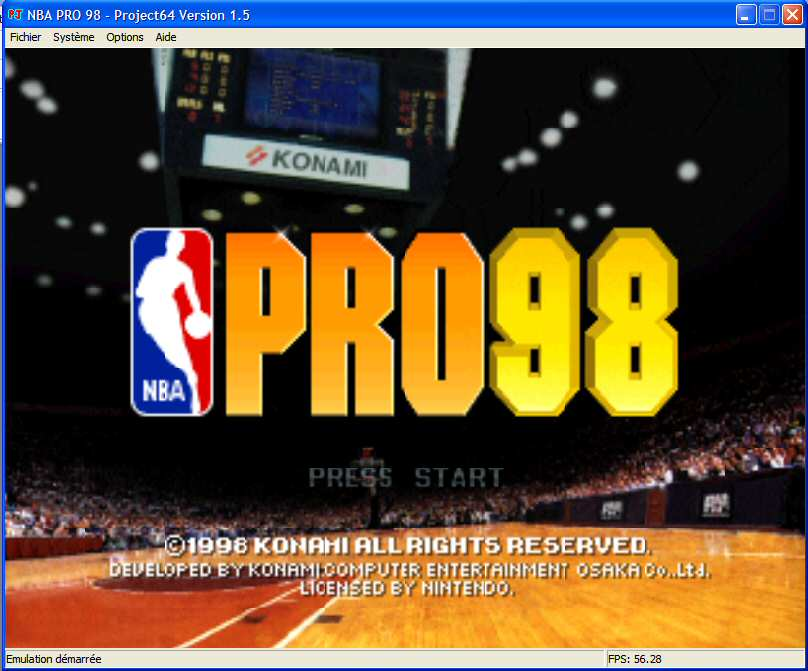 Screenshot 1 du jeu NBA Pro 98