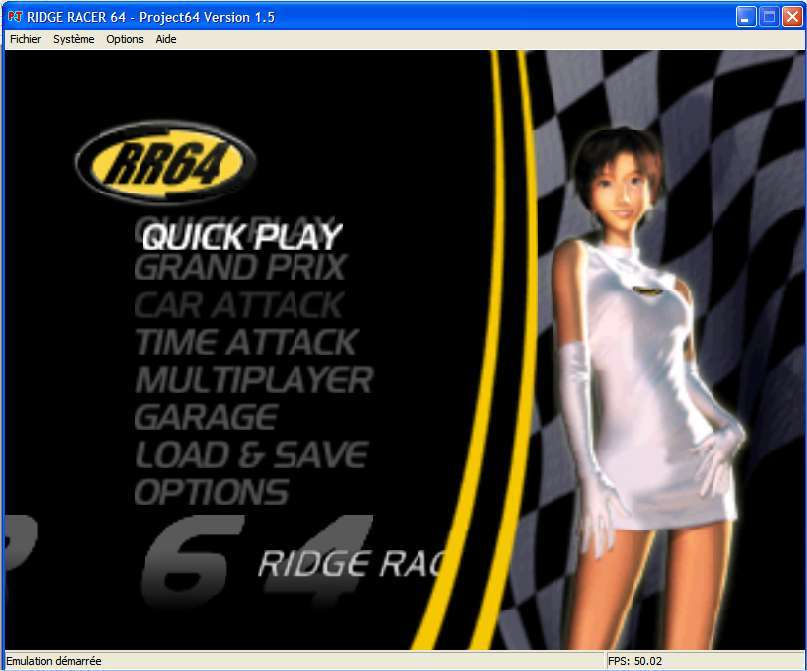Screenshot 1 du jeu Ridge Racer 64