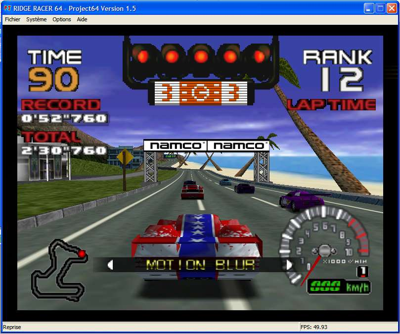 Screenshot 3 du jeu Ridge Racer 64