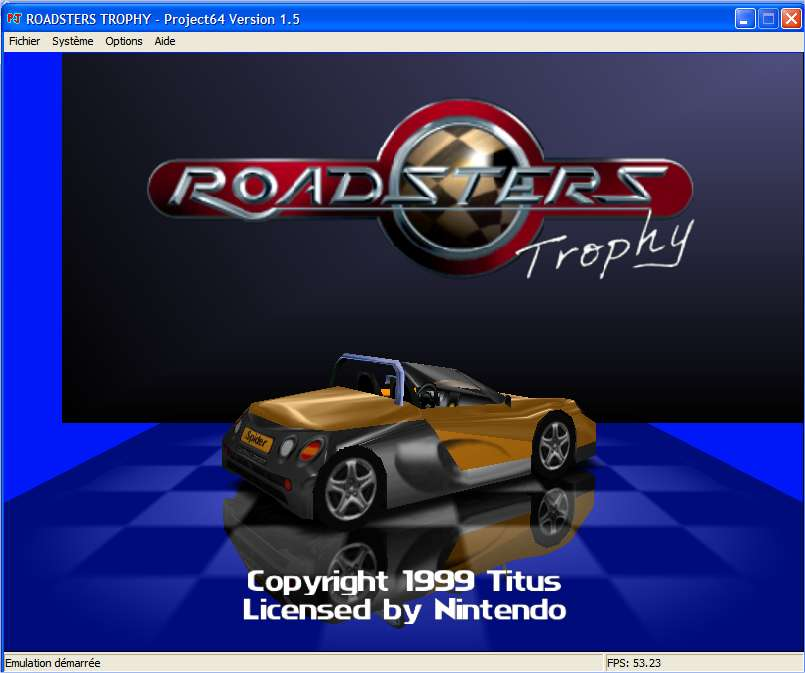 Screenshot 1 du jeu Roadsters Trophy