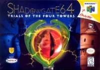Box art du jeu Shadowgate 64, Trial of the Four Towers