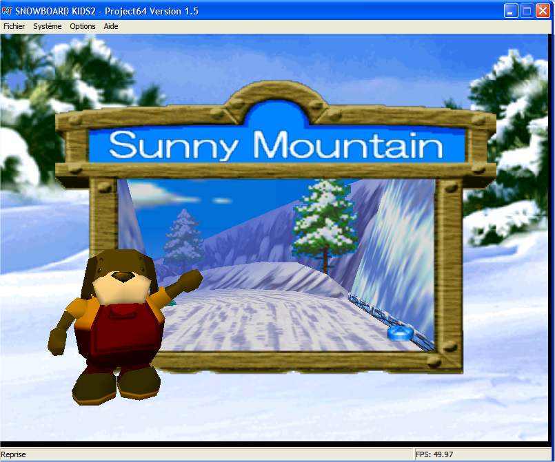 Screenshot 2 du jeu Snowboard Kids 2