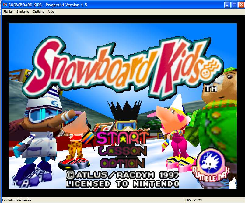 Screenshot 1 du jeu Snowboard Kids