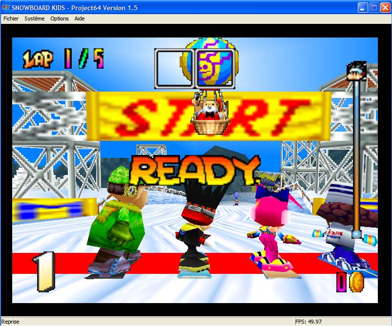 Screenshot 3 du jeu Snowboard Kids