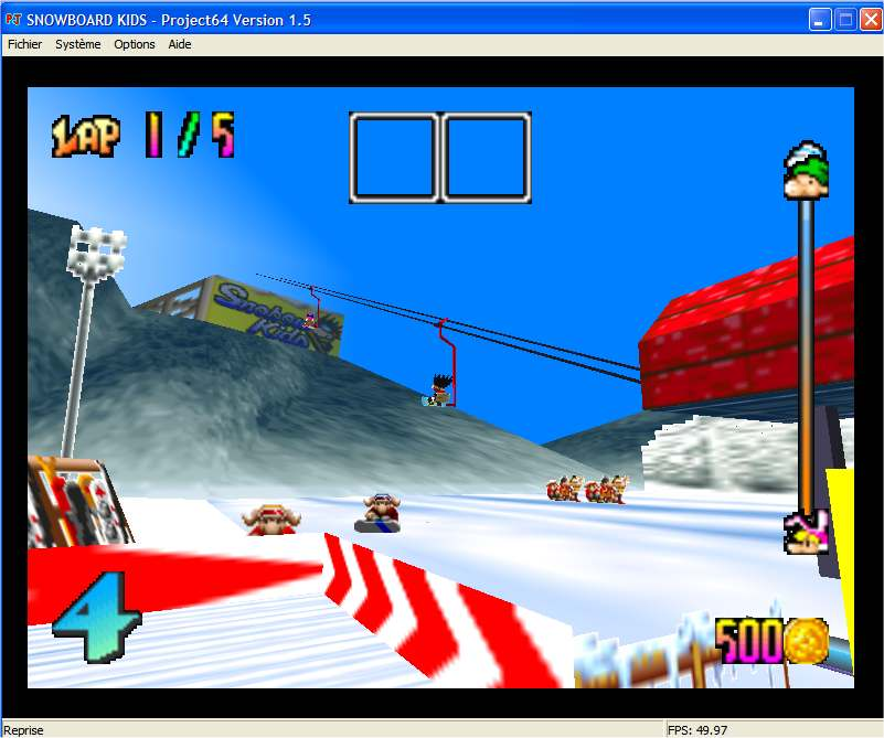 Screenshot 4 du jeu Snowboard Kids