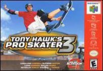 Box art du jeu Tony Hawk's Pro Skater 3