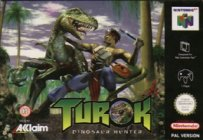 Box art du jeu Turok, Dinosaur Hunter