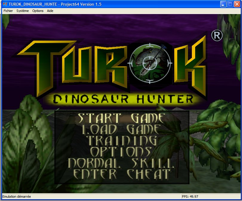 Screenshot 1 du jeu Turok, Dinosaur Hunter
