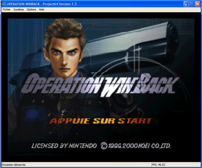 Screenshot 1 du jeu WinBack, Covert Operation