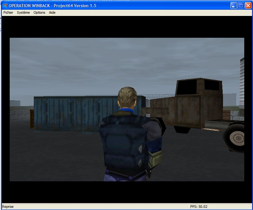 Screenshot 2 du jeu WinBack, Covert Operation