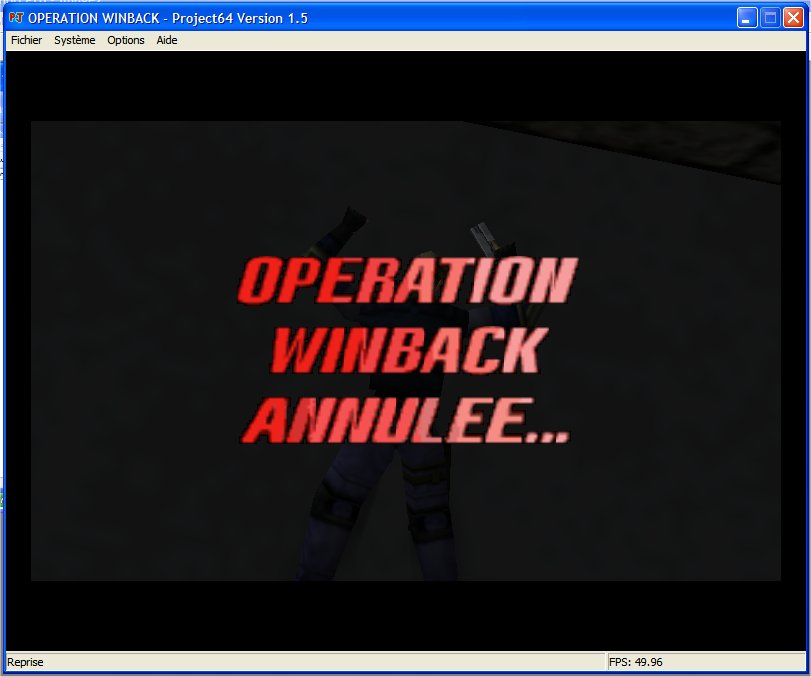 Screenshot 3 du jeu WinBack, Covert Operation