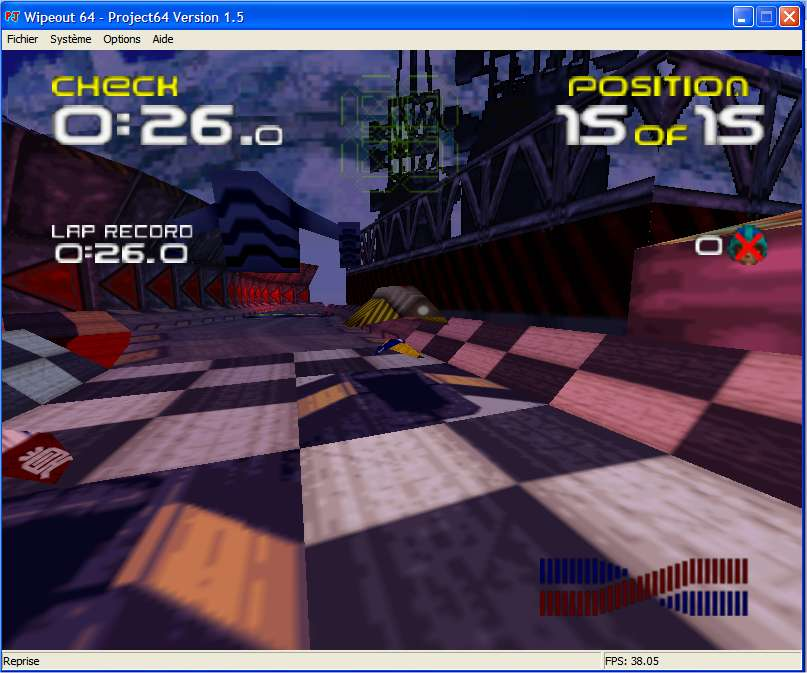 Screenshot 2 du jeu WipeOut 64